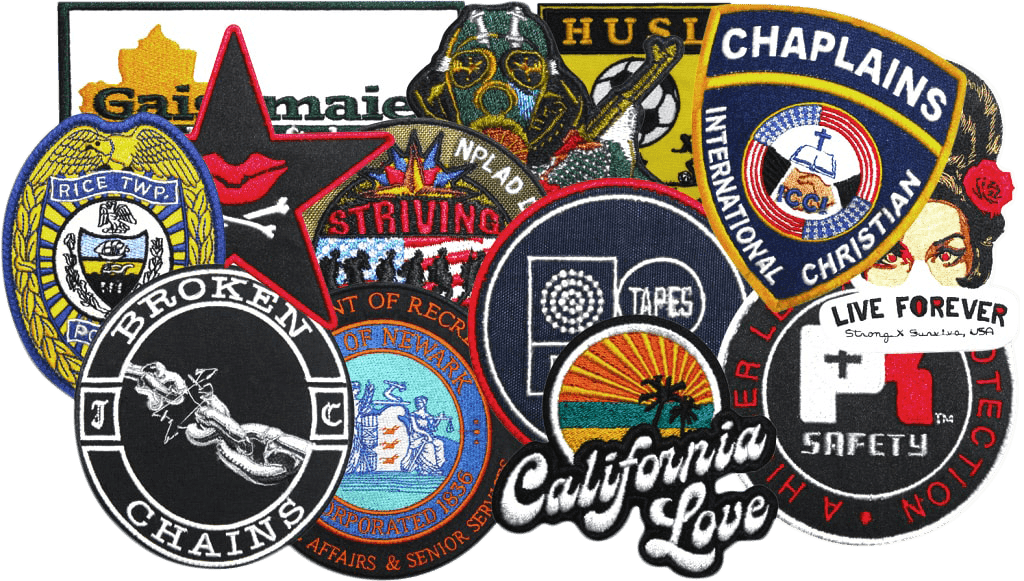 Bulk Embroidered Patches - Quality Patches